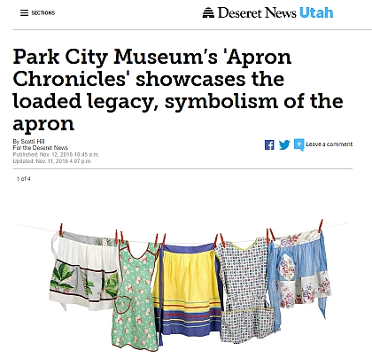 Park City Museum's 'Apron Chronicles' showcases the loaded legacy, symbolism of the apron